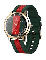 cheap -E6 Full Round Touch Smart Watch Men Sport Women Smartwatch IP68 Waterproof Heart Rate Monitor Weather forecast
