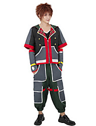 cheap -Inspired by Kingdom Hearts Sora Anime Cosplay Costumes Japanese Cosplay Suits Costume For Men's