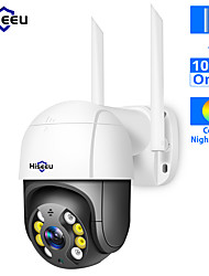 cheap -Hiseeu WHD812B 1080P Full-color Night Vision IP Camera Speed Dome WIFI Camera 2MP Outdoor Wireless 4x Digital Zoom PTZ Security Camera Cloud-SD Slot 2-Way Audio Network CCTV Surveillance