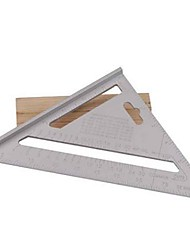 cheap -SPEED SQUARE ROOFING RAFTER ANGLE TRIANGLE GUIDE QUICK MEASURE 7ALUMINIUM ALLOY