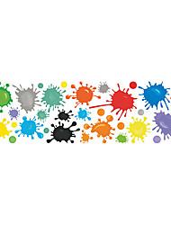 billige -kreativ pigment maling graffiti vægklistermærke kid soveværelse værelse vægdekoration klistermærke