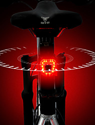 cheap -LED Bike Light Rear Bike Tail Light LED Bicycle Cycling Waterproof Super Bright Quick Release Rechargeable Lithium-ion Battery 120 lm Rechargeable Battery Red Cycling / Bike / Aluminum Alloy