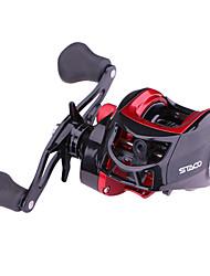 cheap -Fishing Reel Baitcasting Reel / Gear Ratio+18 Ball Bearings Right-handed / Left-handed Freshwater Fishing / Carbon Fiber