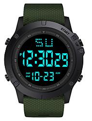 cheap -Kids Digital Watch Digital Digital Casual Water Resistant / Waterproof Chronograph Luminous / Silicone