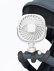 cheap -Versatile Fan Personal Desk Fan with Flexible Tripod Ultra Quiet 360 Adjustable USB Fan for Baby Stroller/Car Seat/Treadmill/Wheelchair/Camping