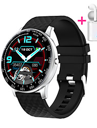 cheap -JSBP HP30 Smart Watch BT Fitness Tracker Support Notify Full Touch Screen/Heart Rate Monitor Sport Stainless Steel Bluetooth Smartwatch Compatible Apple IOS/Samsung Android Phones