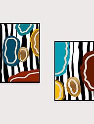 cheap -Framed Art Print Framed Set 2- Abstract Light Luxury Morandi PS Illustration Wall Art Ready To Hang