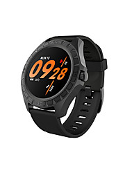 cheap -U20 Men Women Smartwatch Android iOS Bluetooth Waterproof Touch Screen Heart Rate Monitor Blood Pressure Measurement Sports ECG+PPG Stopwatch Pedometer Activity Tracker Sleep Tracker