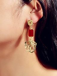 cheap -Women's Dangle Earrings Geometrical Trendy Earrings Jewelry Gold For Date Festival