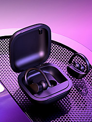 cheap -LITBest B5 TWS Wireless Earbuds Ear-hook Earphone Pop Up Smart Siri 6D Surround Subwoofer Bluetooth Sweatproof Waterproof LED Prower Button Control Volume Music Headset with Charging Compartment