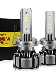 cheap -2pcs car Headlight H7 H11 H4 LED H8 H9 9005 HB3 9006 HB4  Lamp Car LED Headlight 12V Auto Car Fog Light Bulb 6000K 11000LM