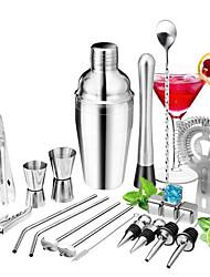 cheap -Cocktail Set 22pcs Barware Tools Cocktails Mixer Whiskey Rum Liqueur Shaker Making Kits