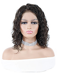cheap -Remy Human Hair Lace Front Wig style Brazilian Hair Loose Wave Natural Wig 150% Density Women's Long Human Hair Lace Wig