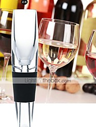 cheap -Acrylic Wine Aerator Pour Spout Bottle Decanter Pourer Aerating