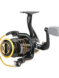 cheap -Fishing Reel Spinning Reel :5.1:1, 4.7:1 Gear Ratio+2 Ball Bearings Hand Orientation Exchangable Sea Fishing / Freshwater Fishing / Trolling & Boat Fishing