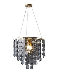 cheap -4-Light 50 cm Single Design Chandelier Acrylic Modern 110-120V 220-240V