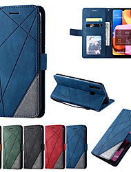 cheap -Case For Samsung A20s Galaxy A20s A70S Galaxy Note 8 Galaxy Note 8 S20 PlusS20 Ultra  Shockproof  Flip Full Body Cases Lines assorted colors  PU Leather