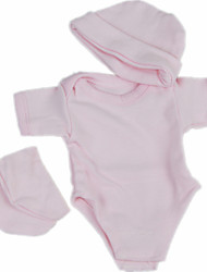 cheap -Reborn Baby Dolls Clothes Reborn Doll Accesories Cotton Fabric for 10-11 Inch Reborn Doll Not Include Reborn Doll Classic Theme Soft Pure Handmade Girls' 3 pcs