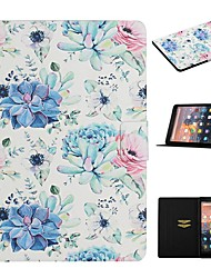cheap -Case For Amazon Kindle PaperWhite 2 3 4 Paperwhite 2018 HD 8 HD 10 Fire HD 7 Card Holder with Stand Flip Full Body Cases Flower PU Leather
