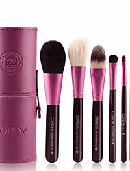 cheap -Professional Makeup Brushes 7 PCS Soft Adorable Artificial Fibre Brush Wooden / Bamboo for Foundation Brush Lip Brush Eyebrow Brush Eyeshadow Brush Makeup Brush Set
