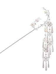 abordables -Ethnique Mode Alliage Coiffe / Bâton de cheveux avec Perle fausse 1 Pièce Mariage / Occasion spéciale Casque