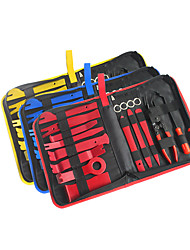 cheap -18Pcs Trim Removal Tool Pry Kit Car Panel Tool Radio Removal Tool Kit Auto Clip Pliers Fastener Remover Pry Tool Kit Car Upholstery Repair Kit Prying Tool Kit with Storage Bag