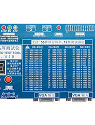 cheap -T-V18 Test Tool for Panel Problems LED LCD Screen Tester Support 7 -84 LVDS Screen
