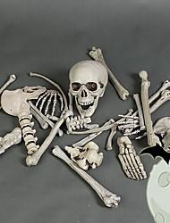 cheap -Skull Halloween Props Men's Halloween Halloween Festival / Holiday Plastics Black Grey Men's Women's Easy Carnival Costumes
