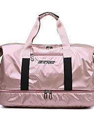 povoljno -Vodootporno Oxford tkanje Patent-zatvarač Putna torba Jedna barva Vanjski Crn / Pink / Srebro