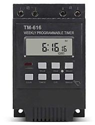 cheap -220V 110V 12V 30AMP TM616 Control Load 7 Days Programmable Digital TIME SWITCH Relay Timer Control - 220V