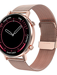 cheap -DT96 Stainless Steel Smartwatch for Android/iPhone/Samsung Phones, Activity Tracker Support Heart Rate&Calories Burned Monitor/Bluetooth Play Music