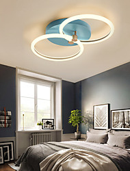 cheap -2-Light 40 cm Geometric Shapes Flush Mount Lights Aluminum Painted Finishes LED Nordic Style 110-120V 220-240V