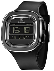cheap -BENYAR Men's Sport Watch Digital Modern Style Sporty Outdoor Calendar / date / day Digital Black / Silicone / Chronograph
