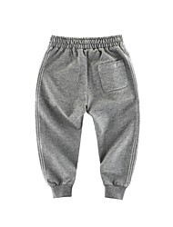 cheap -Kids Boys' Basic Solid Colored Pants Light gray