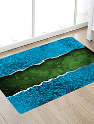 cheap -Cracked Sea Modern Bath Mats Nonwoven / Memory Foam Novelty Bathroom