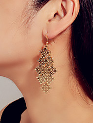 cheap -Women's Hanging Earrings Geometrical Fashion Earrings Jewelry Gold For Date Vacation