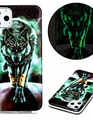 cheap -Case For Apple iPhone  SE 2020 iPhone 11 Pro iPhone 11 Pro Max XR XS Max 7 8 Plus 6 5G Glow in the Dark Pattern Back Cover Animal TPU