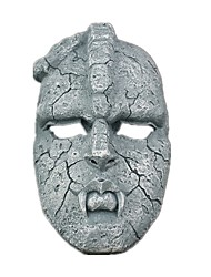 cheap -Halloween Props Inspired by JoJo's Bizarre Adventure Light Blue Halloween Halloween Teen Adults' Women's Men's / Mask