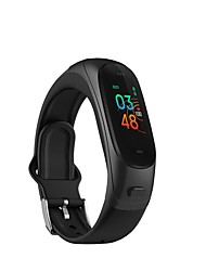 cheap -V08 Pro 2-IN-1 Smart Watch Fitness Tracker Bluetooth Headset Heart Rate Monitor Activity Tracker Pedometer Smart Bracelet