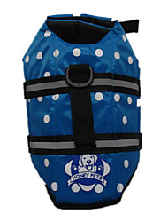 cheap -Dog Cat Costume Vest Polka Dot Sports & Outdoors Sports Sports Casual / Daily Dog Clothes Puppy Clothes Dog Outfits Breathable Red Blue Orange Costume for Girl and Boy Dog Cotton XXS XS S M L XL