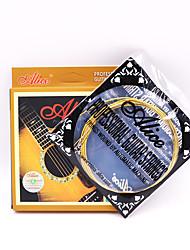 cheap -Acoustic Guitar Strings MN10  010 .014 .022 .027 .036 .047  Inch Super Light 1st-6th Acoustic Guitar Strings