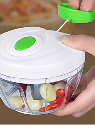 cheap -Manual Food Chopper Vegetable Chopper Food Processor Meat Machine Crusher Blender