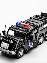 cheap -1:32 Toy Car Model Car Car Police car Sounds Simulation Plastic Mini Car Vehicles Toys for Party Favor or Kids Birthday Gift 1 pcs / Kid's