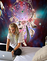cheap -Starry sky garland feather tapestries bohemian wall hangings bedroom decoration blankets mandalas Indian
