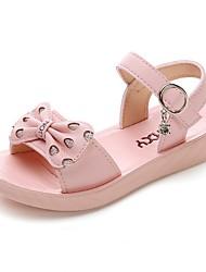cheap -Girls' Comfort PU Sandals Little Kids(4-7ys) White / Purple / Pink Summer