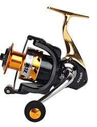cheap -Fishing Reel Spinning Reel 5.2:1 Gear Ratio+14 Ball Bearings Hand Orientation Exchangable Sea Fishing / Freshwater Fishing / Trolling & Boat Fishing