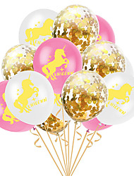 cheap -Party Balloons 15 pcs Unicorn Mermaid Party Supplies Latex Balloons Boys and Girls Party Wedding Decoration -20inch for Party Favors Supplies or Home Decoration