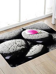 cheap -Peach Blossom Obsidian Modern Bath Mats Nonwoven / Memory Foam Novelty Bathroom
