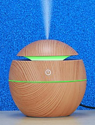 cheap -USB 130ml Air Humidifier With LED Night light Essential Oil Aroma Diffuser Ultrasonic Cool Mist Maker