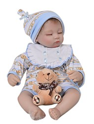 cheap -Reborn Baby Dolls Clothes Reborn Doll Accesories Cotton Fabric for 17-18 Inch Reborn Doll Not Include Reborn Doll Elephant Soft Pure Handmade Boys' 4 pcs